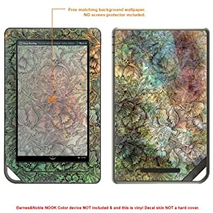 MATTE Decal Skin Sticker for Barnes & Noble Nook Color (Matte Finish) case cover MATT_NOOKcolor-53
