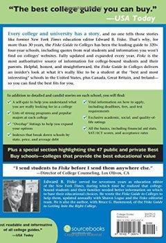 Livres Couvertures de Fiske Guide to Colleges 2017