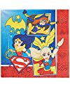 American Greetings DC Super Hero Girls Lunch Napkins (16 Count)
