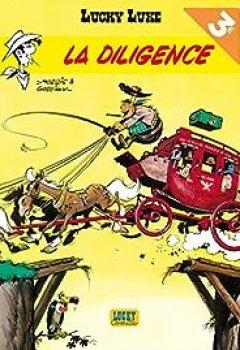 Livres Couvertures de Lucky Luke, Tome 1 : La Diligence