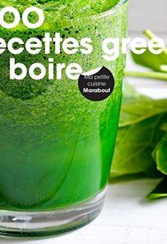 Livres Couvertures de 200 recettes green à boire