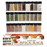"Acrylic Spice Rack - Wall Mount 3 Floating Shelves Gift Set - Versatile ""Invisible"" Shelf Matches Every Kitchen"