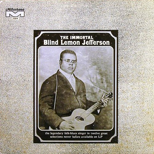 Amazon.com: Blind Lemon Jefferson: The Immortal Blind Lemon Jefferson: Music