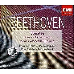 Beethoven : Sonates pour violon / Sonates pour violoncelle (Coffret 5 CD)