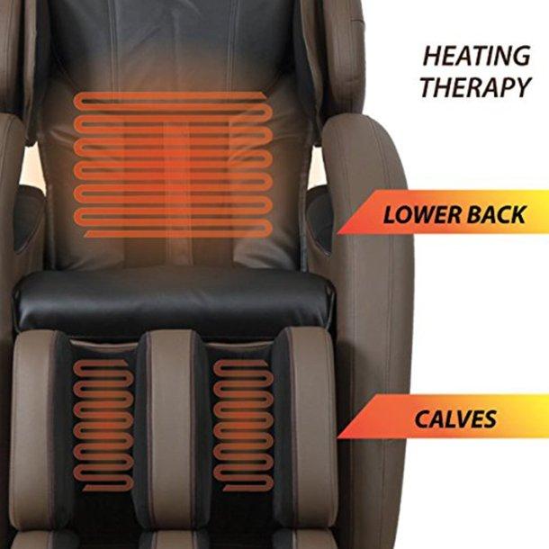 kahuna massage chair heating