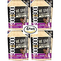 DOG for DOG Dogstreat Mini Duck Treats; 4 PACK of 7oz Bags; 28oz Total