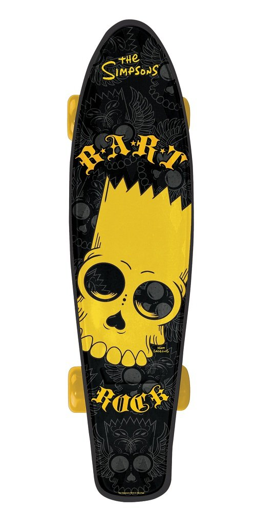 The Simpsons - Bartrock Cruiser Skateboard - MV Sports