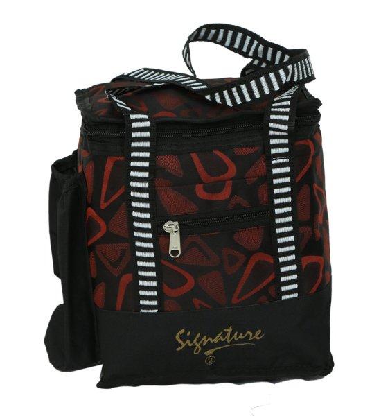 Kuber Industries Stylish Canvas Lunch Bag - KI3377