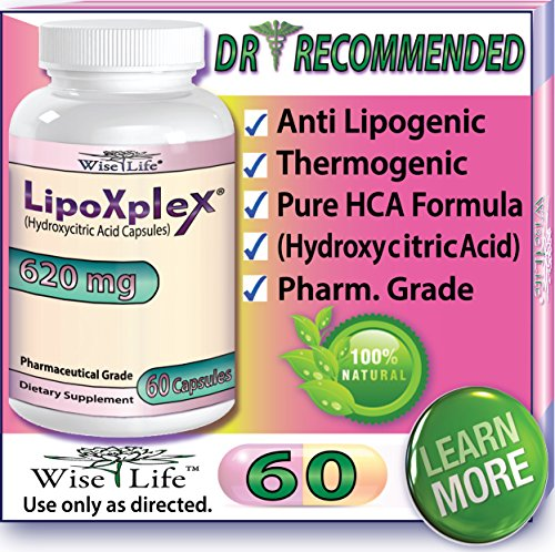 LipoXplex Dr. Recommended Maximum Strength Fast Weight Loss - Metabolism Booster Fat Burning Diet PIlls That Work Fast for Women as Appetite Suppressant and Increase Calorie Burn to Lose Belly Fat Fast, Proven - 100% Guaranteed Best Results.