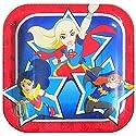 DC Super Hero Girls Small Paper Plates (8ct)