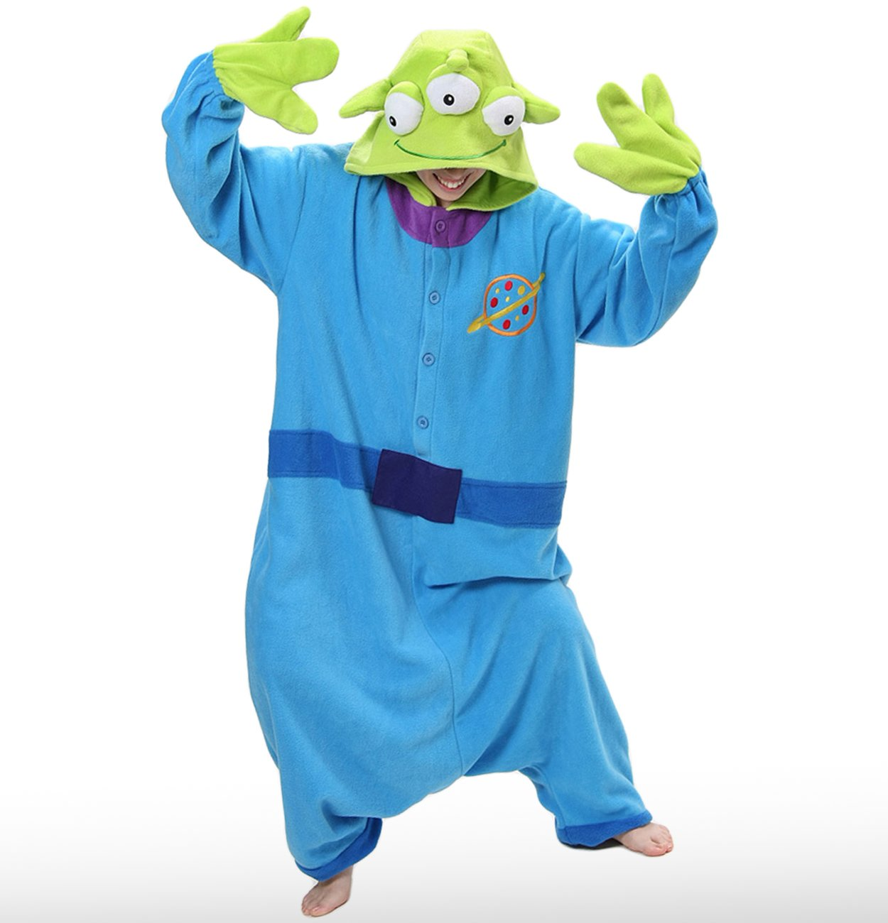 Toy Story Alien Adult Kigu Costume