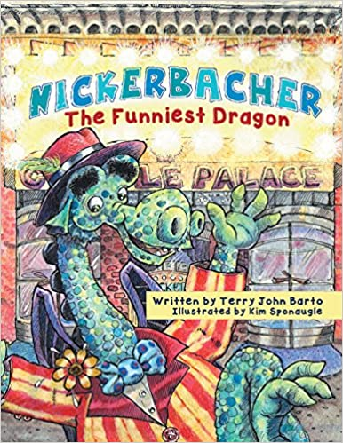 Nickerbacher, The Funniest Dragon Book Cover