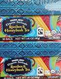 2 boxes of 20 bags Trader Joes Organic Fairtrade Rooibos & Honeybush Tea