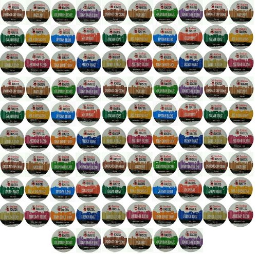96 pack beantown roasters 12 assorted roasted coffees variety pack sampler coffee kcups for