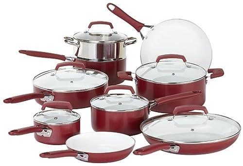 WearEver C943SF Nonstick Ceramic Cookware set 15-Piece