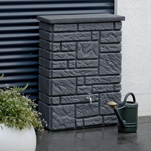 3P Regenspeicher Maurano black granit 300 Liter