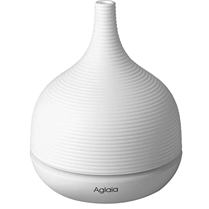 Aglaia Aromatherapy Essential oil Diffuser Ultrasonic Cool Mist with Color LED light and Auto Timer (BE-A5)