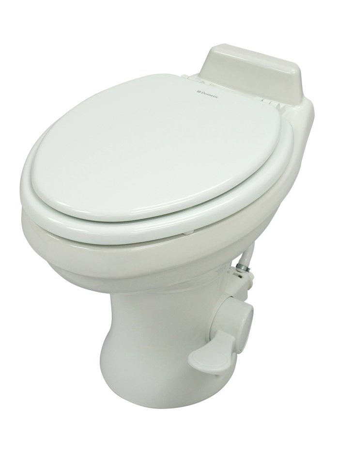 Amazon.com: Dometic 320 Toilet We installed Dometic's residential ceramic RV toilet during our Summer 2015 renovations (provided by Dometic)