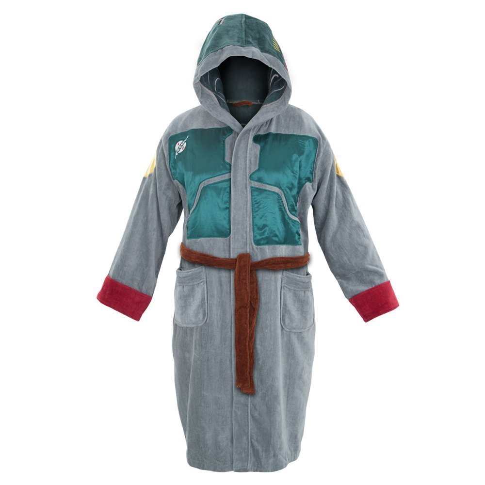 Star Wars Boba Fett Cotton Hooded Adult Robe