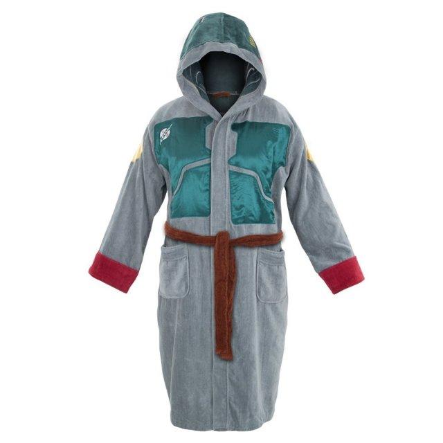 Star Wars Boba Fett Cotton Hooded Adult Robe