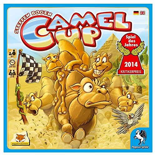 Camel Up Board Game by Pegasus Spiele