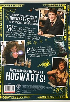 Portada del libro deHarry Potter Hogwarts. A Cinematic Yearbook