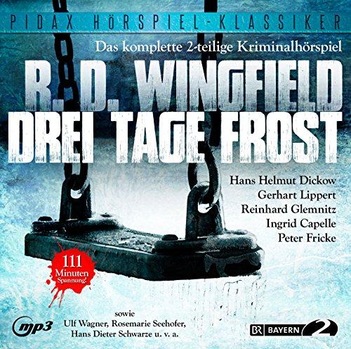 Pidax Hörspiel-Klassiker - Drei Tage Frost (Rodney David Wingfield) BR 1978 / pidax 2015