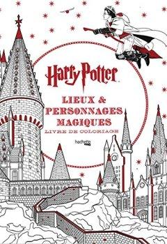 Livres Couvertures de Lieux et personnages magiques: Harry Potter