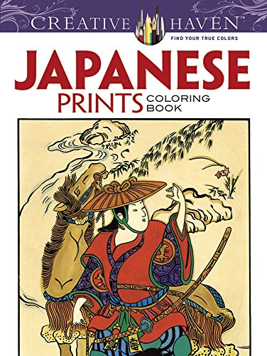 Creative Haven Japanese Prints Coloring Book (Creative Haven Coloring Books)