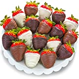 Golden State Fruit Chocolate Covered Strawberries, 18 Berry Bites