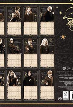Livres Couvertures de Harry Potter Official 2019 Calendar - Square Wall Calendar Format