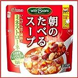 【冷蔵】【10袋】フジッコ 朝のたべるスープ 200g (いんげん豆のミネストローネ)