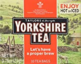 Taylors of Harrogate Yorkshire Black Tea, 10 Count