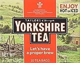 Taylors of Harrogate Yorkshire Black Tea, 10 Count