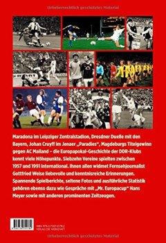 Buchdeckel von Als Maradona 80.000 lockte: Die DDR-Klubs im Europapokal