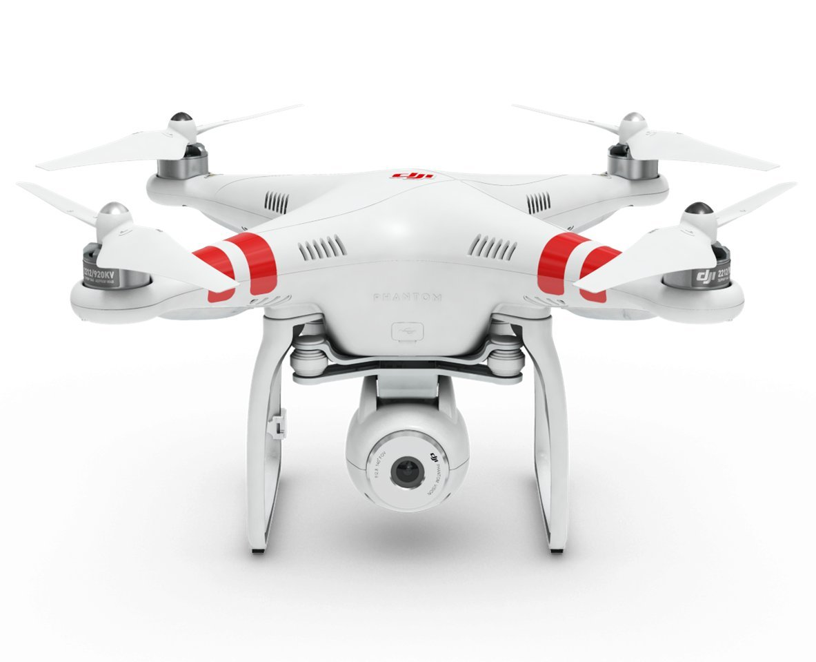 DJI Phantom 2 Vision Quadcopter with Integrated FPV Camcorder (White)