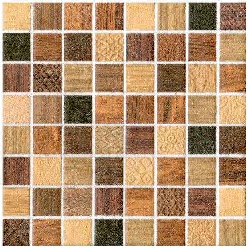 tesselar divine 7 13 16 x 7 13 16 inch ceramic wall tile 10 pcs 4 17 sq ft per case 1 standard shipping jose a welsher