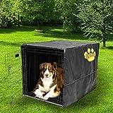 "Sofantex Heavy Duty High Quality Crate Cover Waterproof 3 Year Warranty, 48"" L x 30"" W x 33"" H, Black"