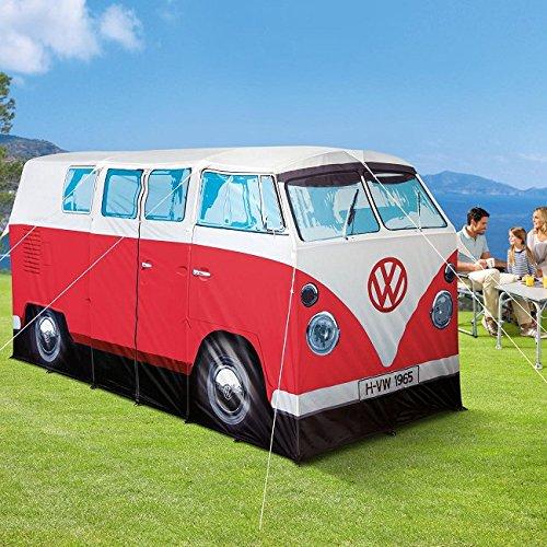 VW Volkswagen T1 Camper Van Adult Camping Tent - Red