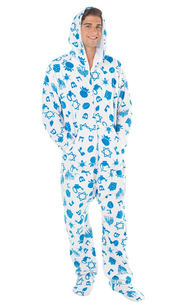 Fun Adult Hoodie One Piece Jumpsuit Pajamas