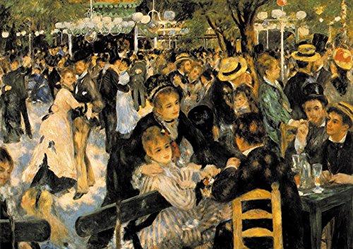 【DXポスター】ピエール=オーギュスト・ルノワールのアートポスター Pierre-Auguste Renoir A2 P-A2-FIN-RENO-0006