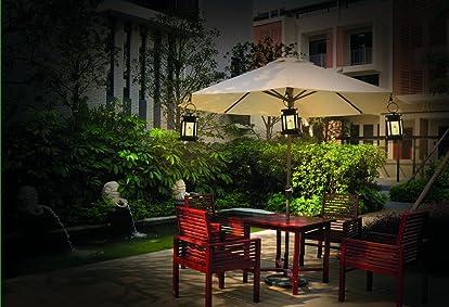 Amazing Best Solar Patio Umbrella Lights