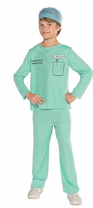 Forum Novelties Emergency Room Surgeon Costume, Child Large