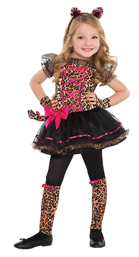 Children's Precious Leopard Costume Size Toddler (3-4)