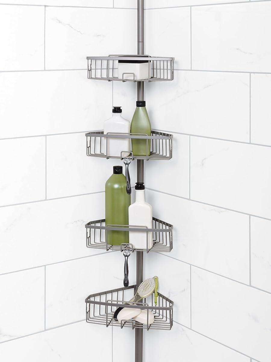 Corner Shower Caddy Brushed Nickel