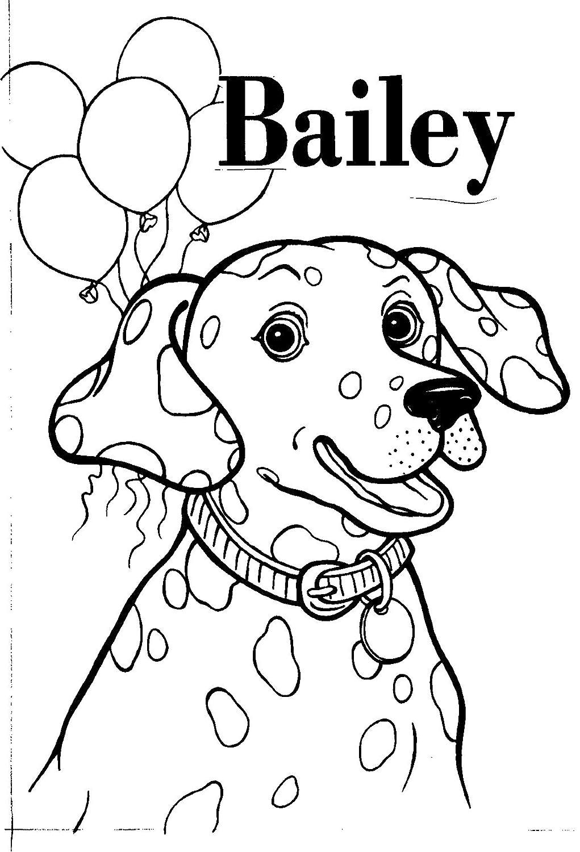 dalmatian without spots coloring page wwwimgkidcom