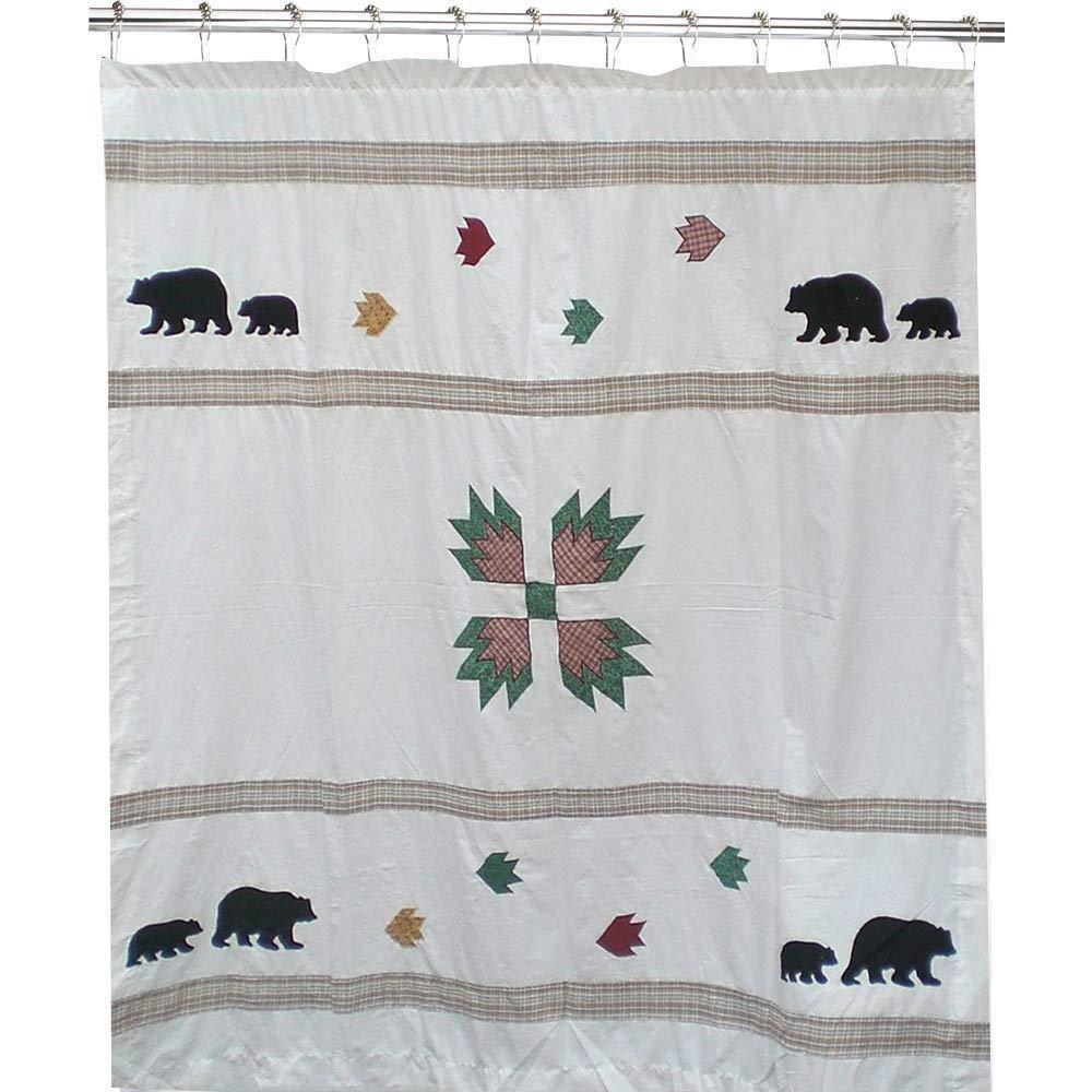 Bear Shower Curtain Shop Everything Log Homes
