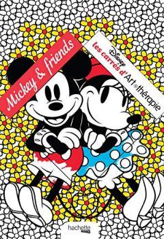 Livres Couvertures de Mickey & Friends: Les Carrés Art-thérapie