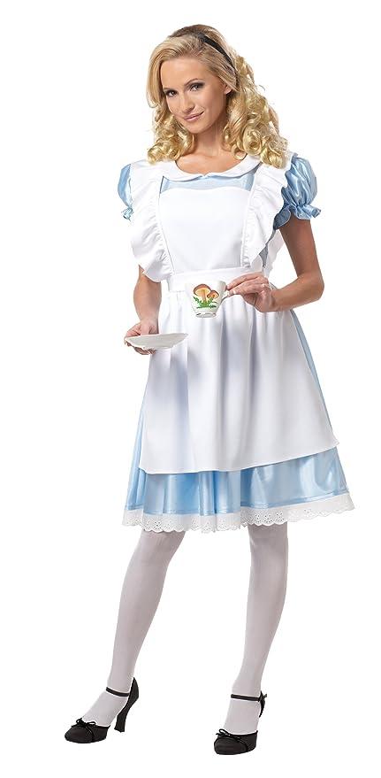 California Costumes Women's Alice Costume,White/Blue, Small