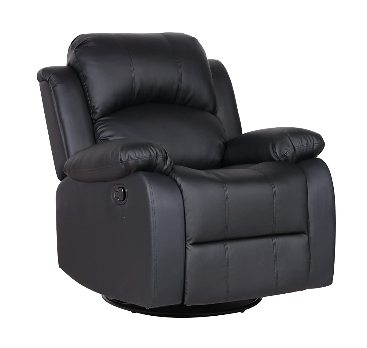 Leather Living Chairs Swivel Room